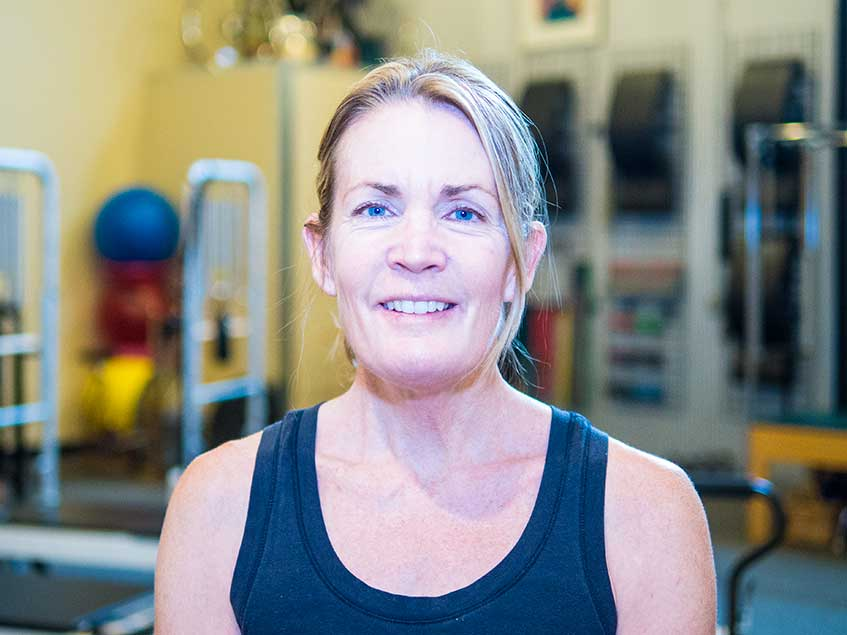Brandy Staves, Pilates instructor